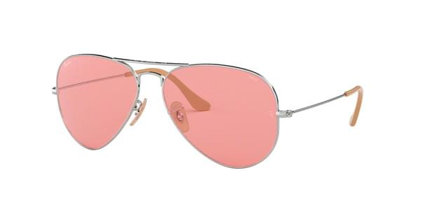 Ray-Ban RB3025 Aviator Large Metal 9065V7 Sunglasses Silver ... 32df2d4c4d