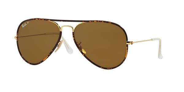 49679a1f95 Ray-Ban RB3025JM Aviator Full Color Polarized 001 57 Sunglasses ...