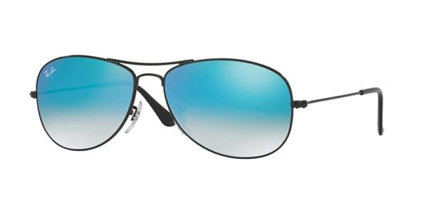 Ray-Ban RB3362 Cockpit Flash Lens Gradient 002 4O Sunglasses Black ... 566d7ec77