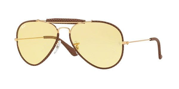 0de1a150c009 Ray-Ban RB3422Q Craft Outdoorsman 90424A Sunglasses in Gold ...
