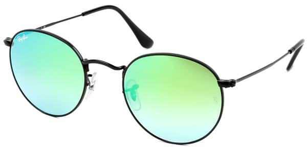 Gafas de Sol Ray-Ban RB3447 Round Flash Lenses Gradient 002/4J