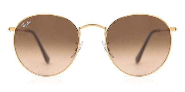 bfc4897319 Ray-Ban RB3447 Round Metal 9001A5 Sunglasses Gold | SmartBuyGlasses ...