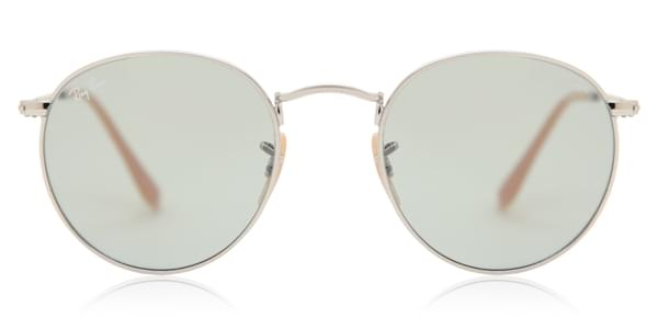 7463242909669 Ray-Ban RB3447 Round Metal 9065I5 Sunglasses Silver ...