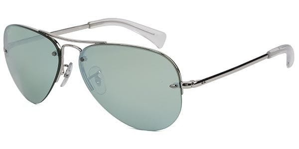 43ab6de82c Ray-Ban RB3449 Highstreet 904330 Sunglasses Silver | SmartBuyGlasses ...