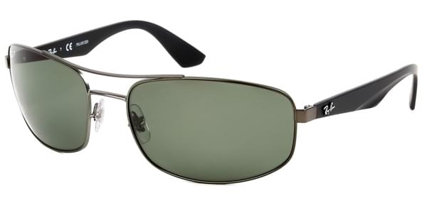 9cd91b0e78 Ray-Ban RB3527 Active Lifestyle Polarized 029 9A Sunglasses Grey ...