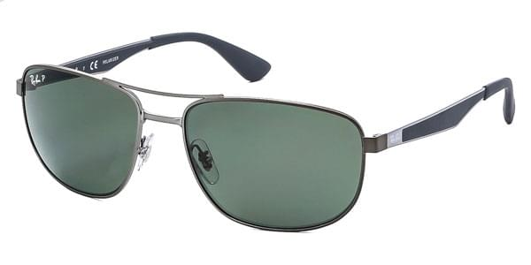 7b8dbcbe98 Ray-Ban RB3528 Active Lifestyle Polarized 029 9A Sunglasses Grey ...