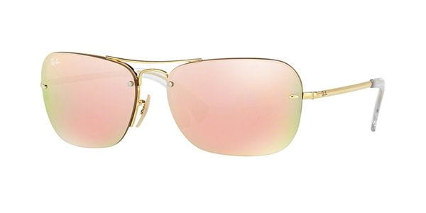 2b8c12deb6 Ray-Ban RB3541 Highstreet 001 2Y Sunglasses Gold