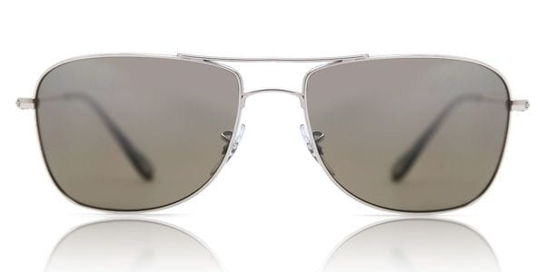 92e53387a9 Ray-Ban RB3543 Chromance Polarized 003 5J Sunglasses Silver ...