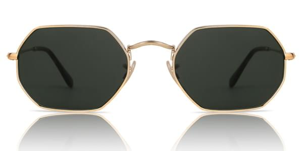 Ray-Ban RB3556N Octagonal 001 Sunglasses Gold   SmartBuyGlasses Canada 63df157d6f