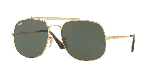 81b4e581f3dbf Ray-Ban RB3561 General 001 Sunglasses Gold
