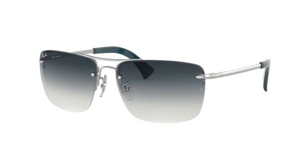 81829f9bb Ray-Ban RB3607 91290S Sunglasses Silver | SmartBuyGlasses Ireland