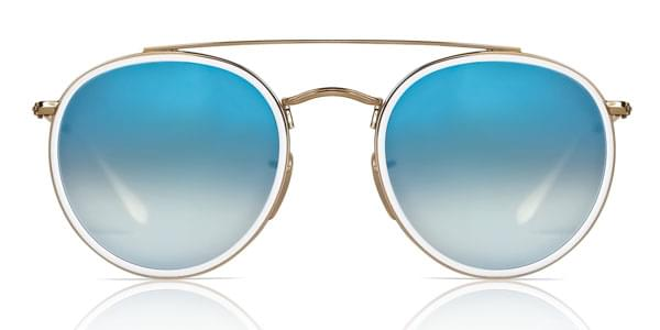 1320625f7ab27e Ray-Ban RB3647N 001 4O Sunglasses in Gold