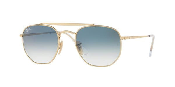 eff968a0b1c59 Ray-Ban RB3648 The Marshal 001 3F Sunglasses Gold