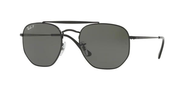 b684f45efc2 Ray-Ban RB3648 The Marshal Polarized 002 58 Sunglasses Black ...