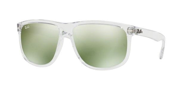 74f9b6880ea183 Ray-Ban RB4147 Highstreet 632530 Sunglasses in Clear ...