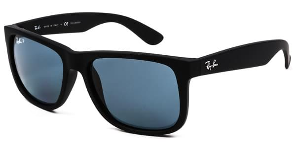 Ray-Ban RB4165 Justin Polarized 622 2V Sunglasses Black ... 627bae87a6