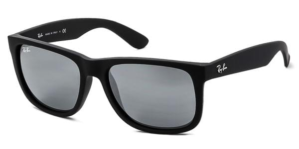 Ray-Ban RB4165 Justin Color Mix 622 6G Sunglasses Black ... a0ff948108
