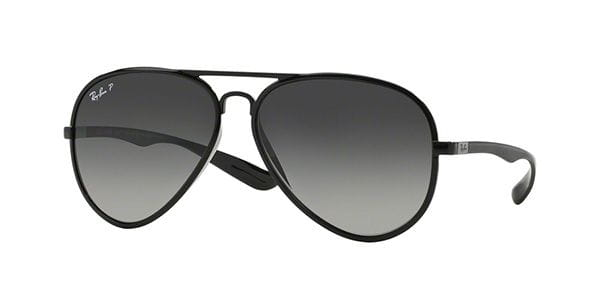all black aviator ray ban sunglasses