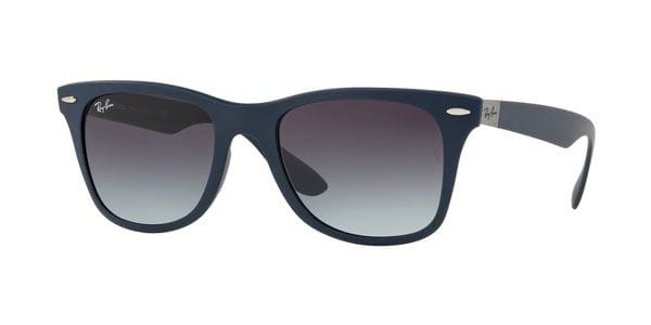 f69bbe5ef Ray-Ban RB4195 Wayfarer Liteforce 63318G Sunglasses Blue ...