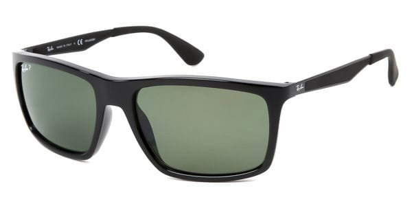 401fd08e110 Ray-Ban RB4228 Light Ray Polarized 601 9A Sunglasses Black ...