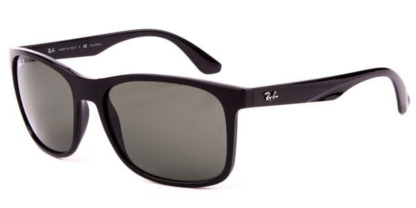 7236375b1437 Ray-Ban RB4232 Polarized 601/9A Sunglasses Black | VisionDirect ...
