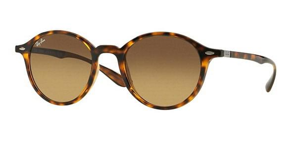 0cc633e241c Ray-Ban RB4237 Round LiteForce 710 85 Sunglasses Tortoise ...