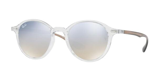 97c4f0e3735 Ray-Ban RB4237 Round LiteForce 62909U Sunglasses Clear ...