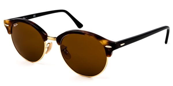 301842066a74c Ray-Ban RB4246 Clubround 1160 Sunglasses Brown