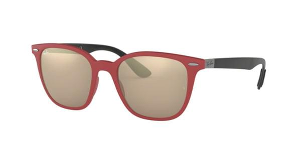 130ca76256 Ray-Ban RB4297 63455A Sunglasses Red
