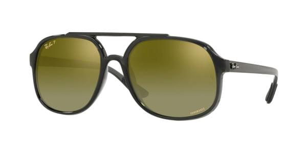 0aa08fbcf3 Ray-Ban RB4312CH Polarized 876 6O Sunglasses in Grey ...
