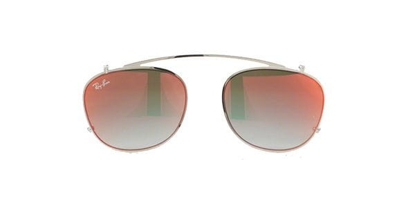 3369bfe7a5d0bb Ray-Ban RX6317C Clip On 2501B6 zilver Zonnebril Kopen ...
