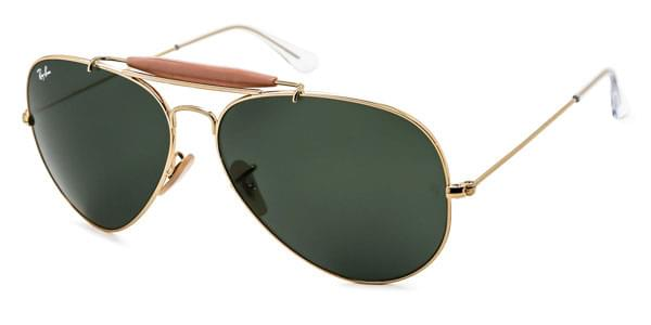 7172db5eb58 Ray-Ban RB3029 Outdoorsman II L2112 Sonnenbrille Gold