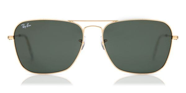 b4392da47e4 Ray-Ban RB3136 Caravan 001 Sunglasses Gold