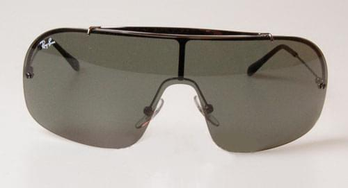 930e8d8241 Ray-Ban RB3160 Wings II 004 71 Sunglasses Grey