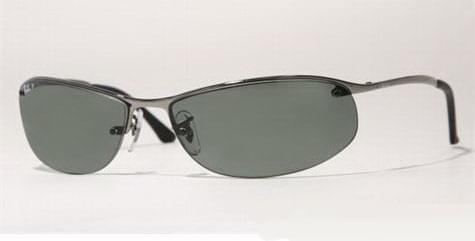 c39a0ccd6f Ray-Ban RB3179 Top Bar Oval Polarized 004 9A Sunglasses Grey ...