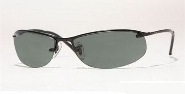 4d81468753 Ray-Ban RB3179 Top Bar Oval 006 71 Sunglasses in Black ...