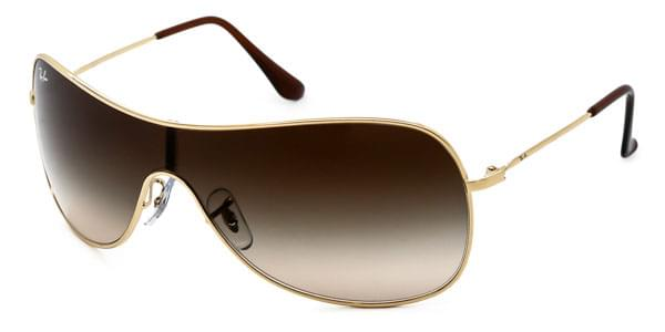 61418620a10 Ray-Ban RB3211 Highstreet 001 13 Sunglasses Gold