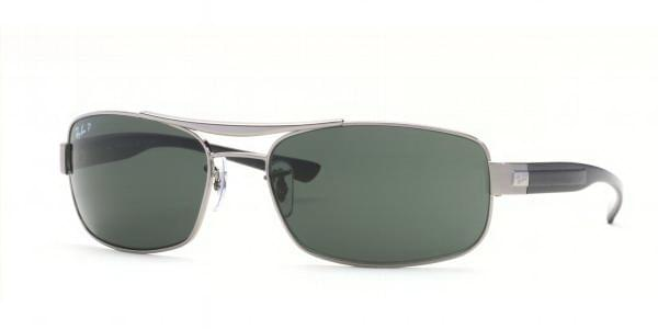 d361cf7560 Ray-Ban RB3302 Polarized 004 58 Sunglasses Grey