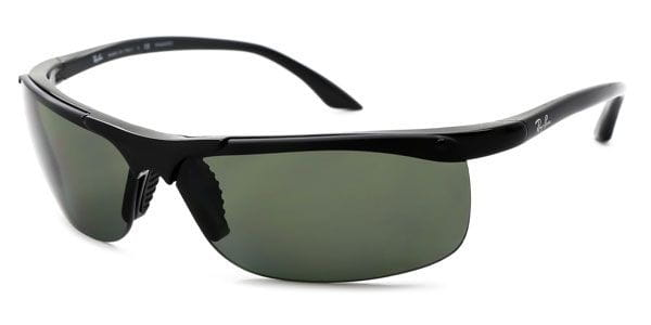 cfa09f3041 Ray-Ban RB4085 Active Lifestyle Polarized 601 9A Sunglasses in Black ...