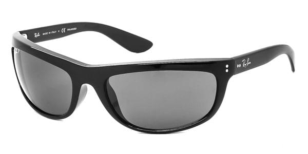 91cc79614e Ray-Ban RB4089 Balorama Polarized 601 58 Sunglasses Black ...