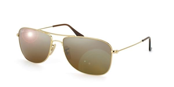 74b7a82e4bb Ray-Ban RB3477 Highstreet 001 3K Sunglasses Gold
