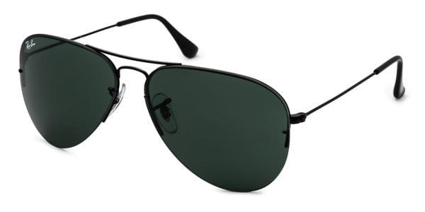 4d2d9482fe3 Ray-Ban RB3460 Aviator Flip Out Polarized 002 71 A Sunglasses Black ...