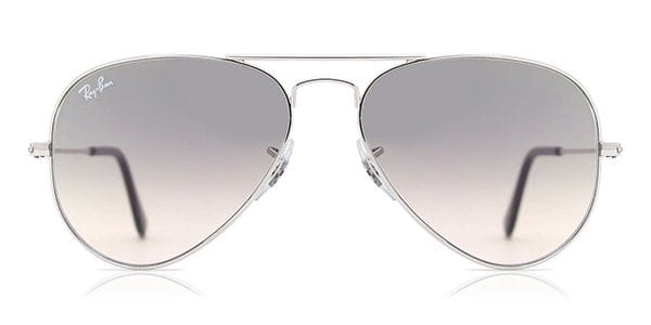 e8577eda9 Ray-Ban RB3025 Aviator Gradient 003/32 Sunglasses Silver ...