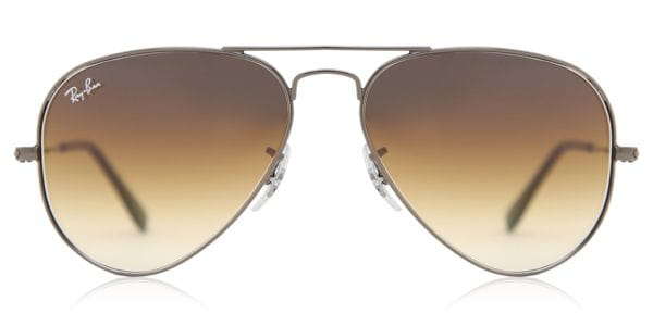 f41daf9356 Ray-Ban RB3025 Aviator Gradient 004 51 Sunglasses Grey ...