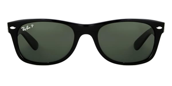 105b223aad Ray-Ban RB2132 New Wayfarer Polarized 901 58 Sunglasses Black ...