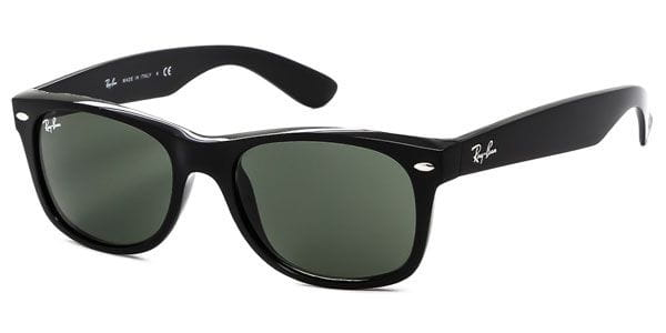 e328839d73e Ray-Ban RB2132 New Wayfarer 901 Sunglasses in Black ...