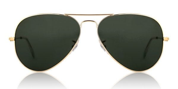 6d1d99642f0 Ray-Ban RB3025 Aviator L0205 Sunglasses Gold