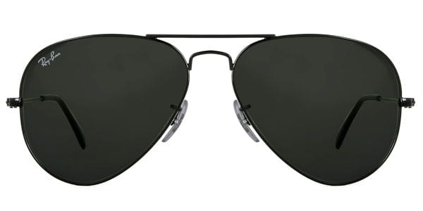 da93923488 Ray-Ban RB3025 Aviator L2823 Sunglasses in Black