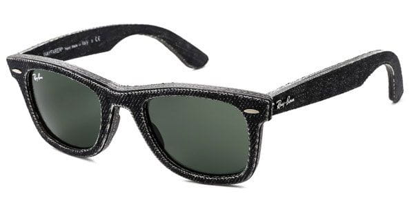 289c74bae8 Ray-Ban RB2140 Original Wayfarer Denim 1162 Sunglasses Black ...