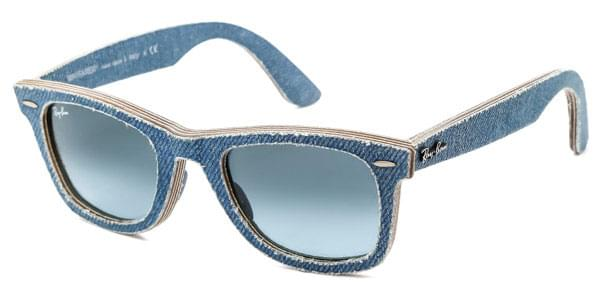 13f6f83849 Ray-Ban RB2140 Original Wayfarer Denim 11644M Sunglasses Blue ...